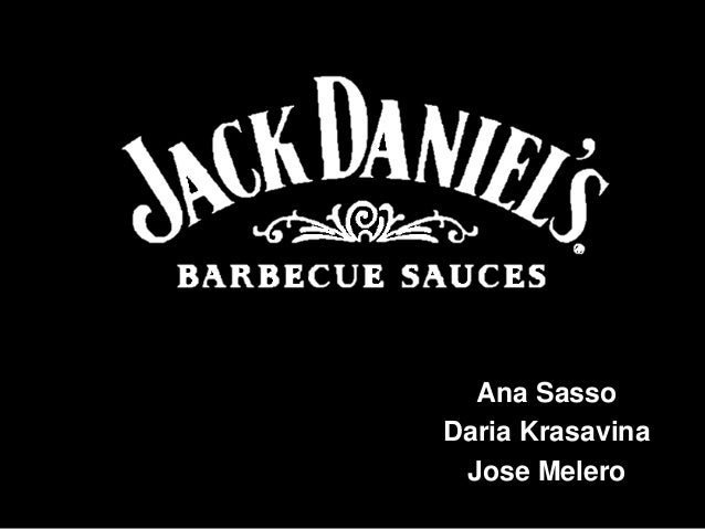 Jack Daniel's Barbecue Sauce - Marketing Plan