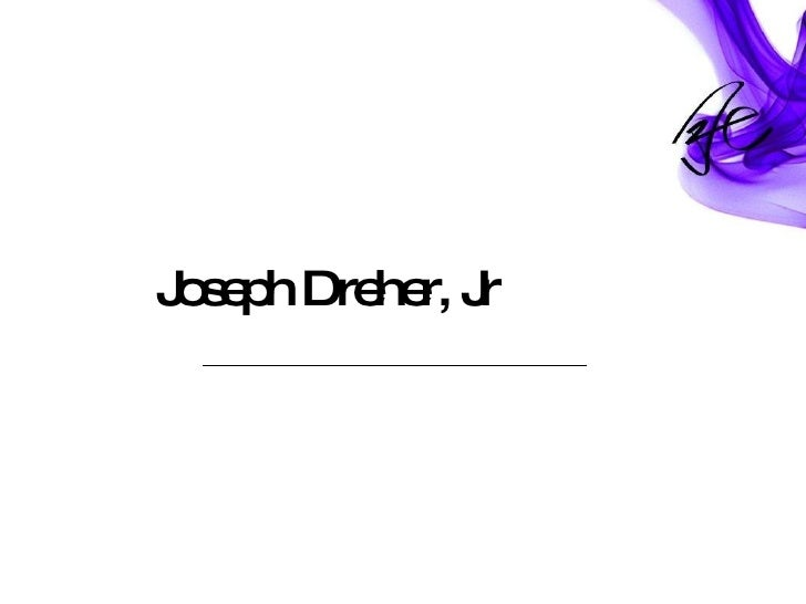 Joseph Dreher, Jr