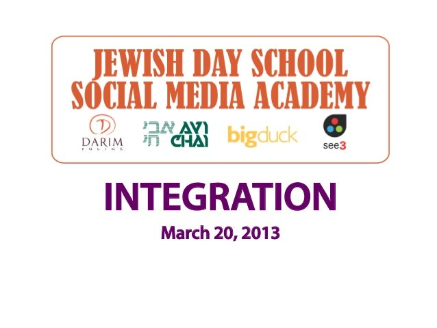 INTEGRATION  March 20, 2013