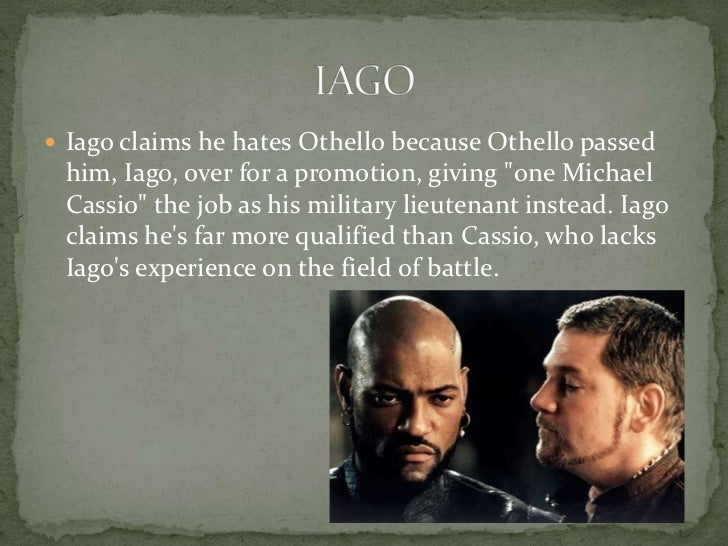 essays on othello racism