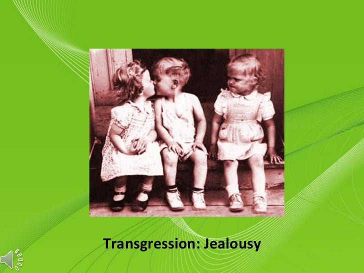 Transgression: Jealousy    Powerpoint Templates                           Page 1