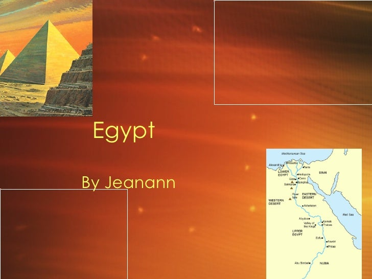 Egypt By Jeanann