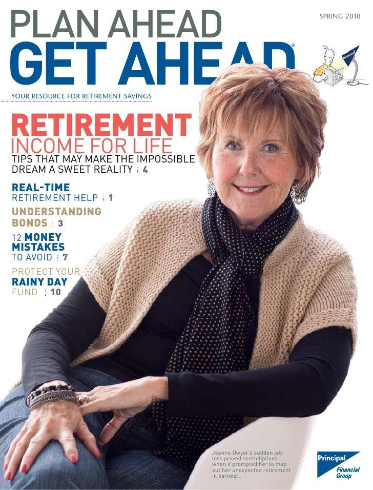 """Jeanne Dwyer's interview in """"Plan Ahead, Get Ahead"""""""