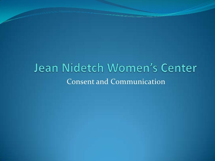 Consent and Communication