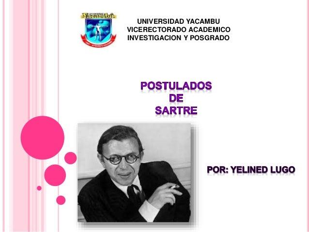 UNIVERSIDAD YACAMBU VICERECTORADO ACADEMICO INVESTIGACION Y POSGRADO