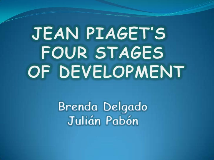 Warm – up activityJean Piaget's BiographyThe Four stages theoryActivityClosing questionsCuestion from the public