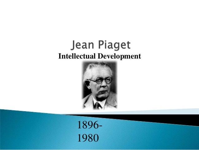 Jean Piaget Essay