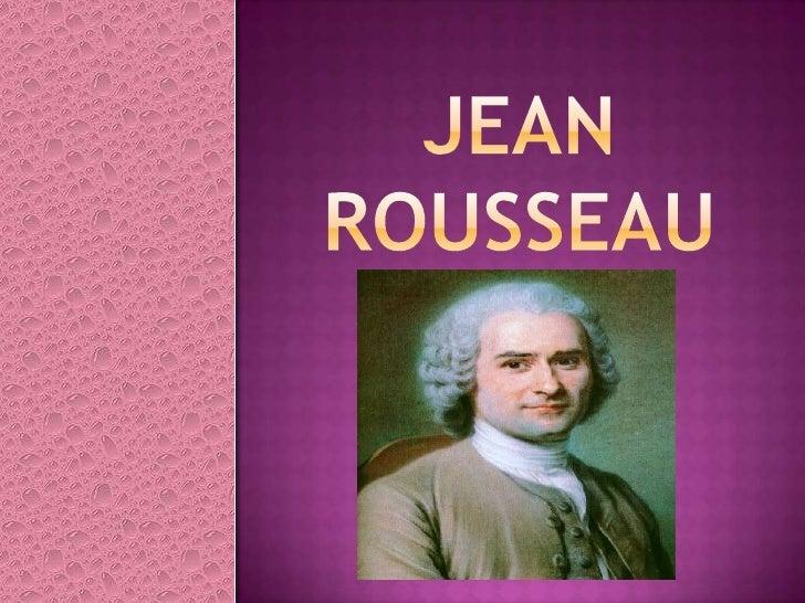 JEAN ROUSSEAU<br />