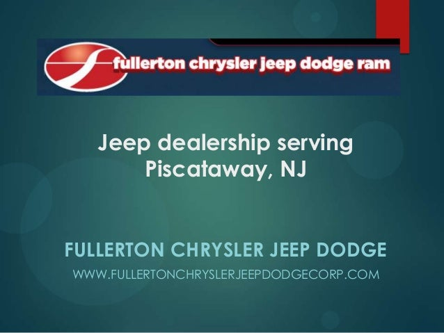 Jeep dealership serving Piscataway, NJ