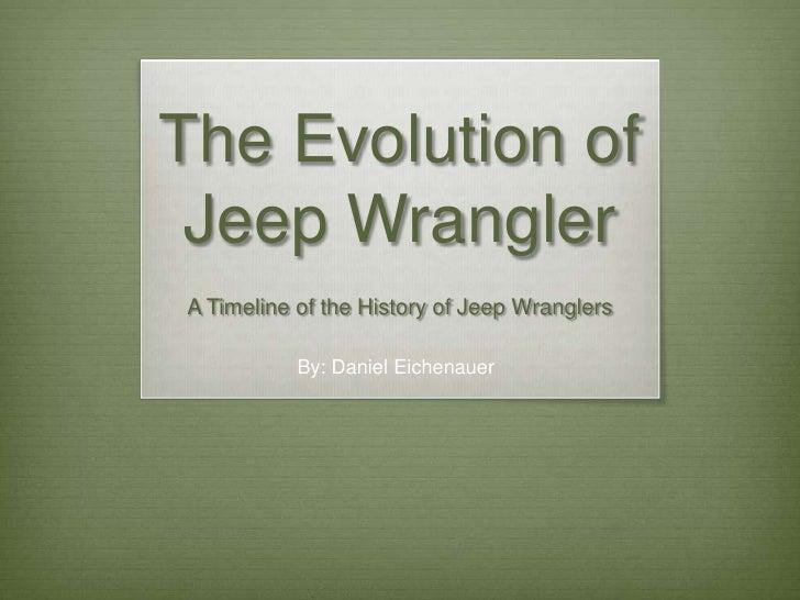 Jeep presentation