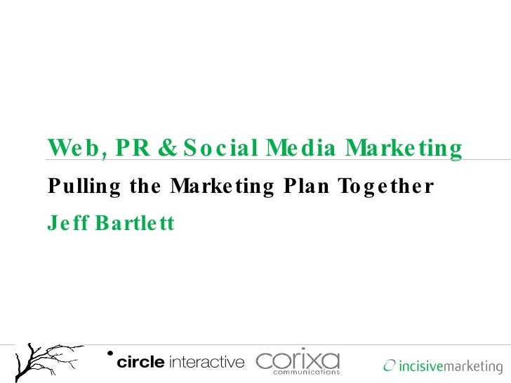 Pulling the Marketing Plan Together.