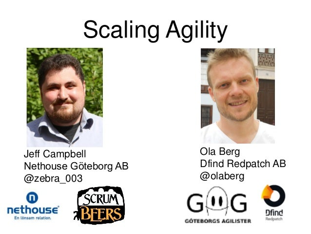 Jeffery cambell, ola berg closing keynote - scaling agile