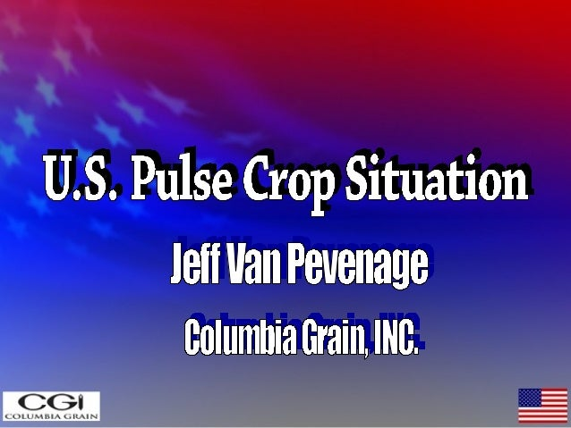 US Pulses & Crop markets