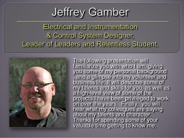 Jeffrey Gamber