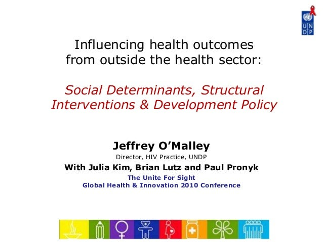 Social Determinants of Health and Development Policy at Yale University