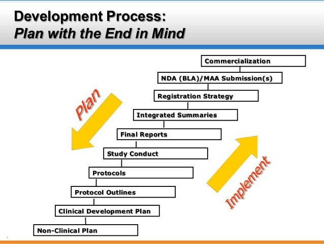 Development Process: Plan with the End in Mind Commercialization NDA (BLA)/MAA Submission(s) Registration Strategy Integra...