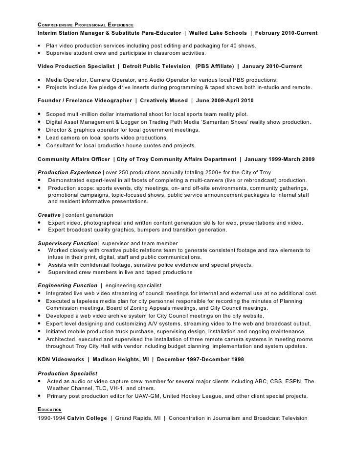 special education paraeducator resume