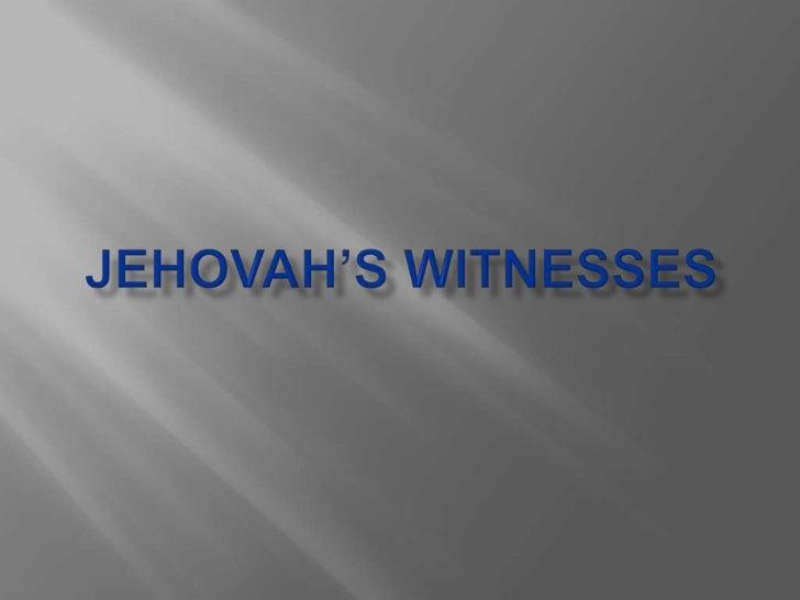 Jehovahswitnesses