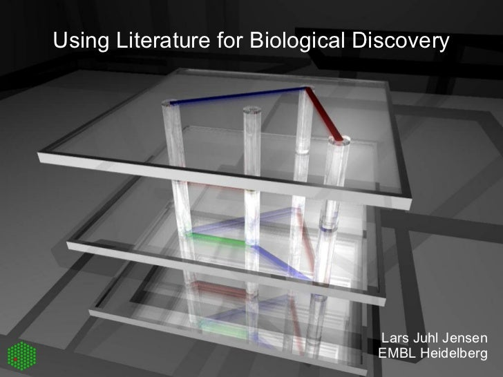 Utilizing literature for biological discovery