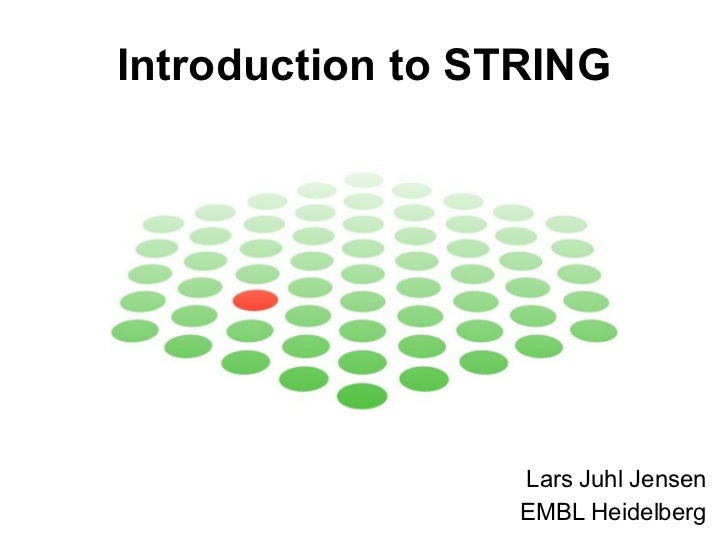 Introduction to STRING