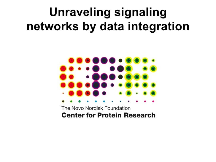 Unraveling signaling networks by data integration