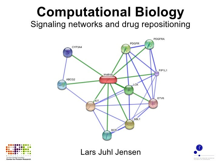 Computational Biology Signaling networks and drug repositioning Lars Juhl Jensen