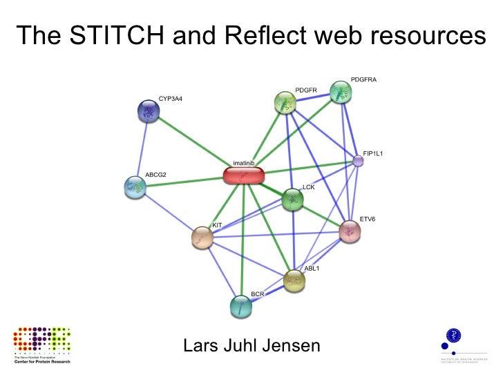 The STITCH and Reflect web resources Lars Juhl Jensen