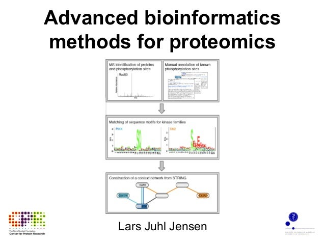 Advanced bioinformatics methods for proteomics