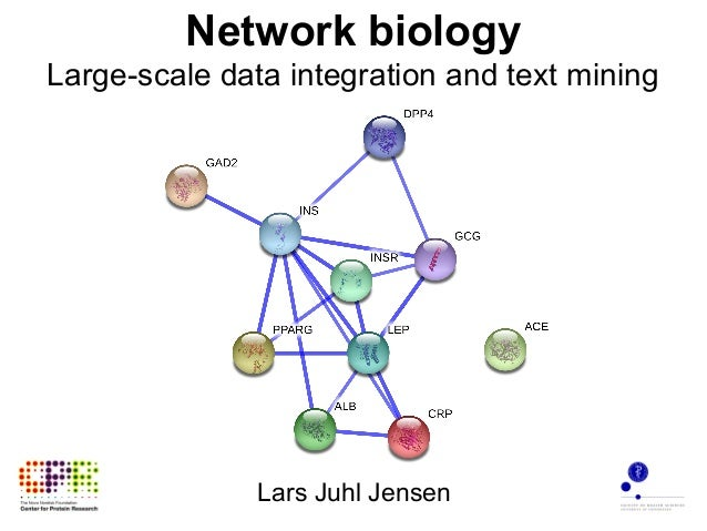 Network biology - Large-scale data integration and text mining