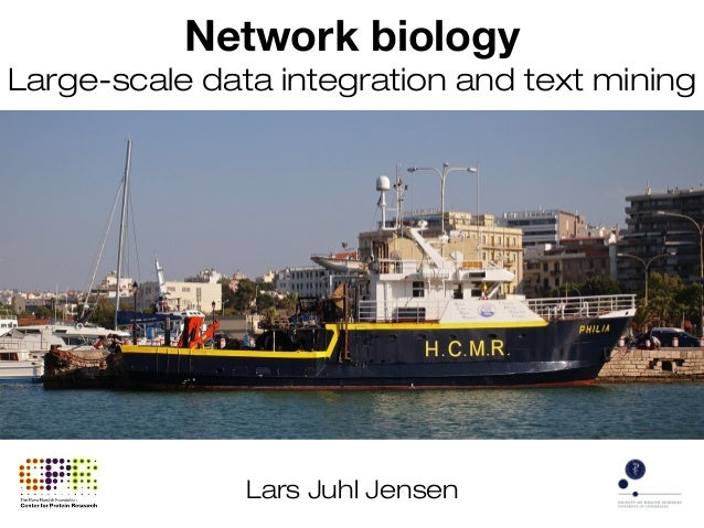Network biology: Large-scale data integration and text mining