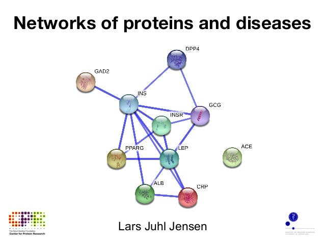 Networks of proteins and diseases Lars Juhl Jensen