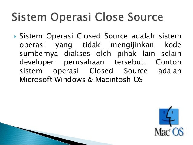 contoh close source