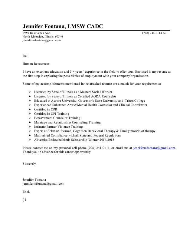 new resume letter