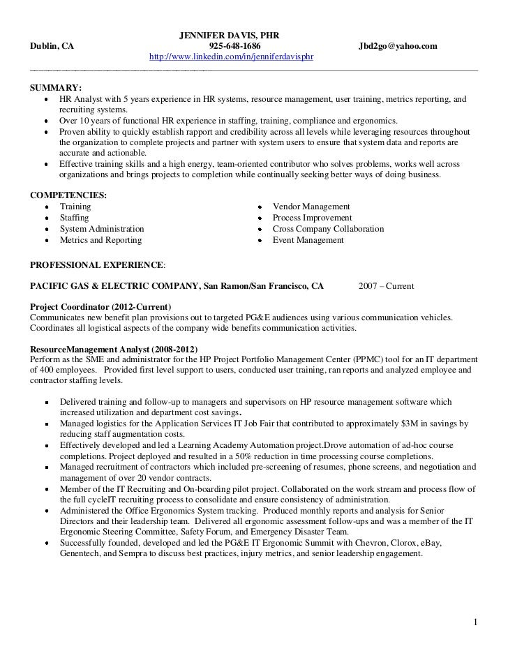 Resume help davis ca
