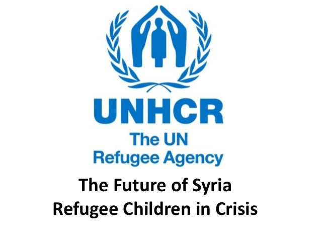 The Future of Syria Refugee Children in Crisis
