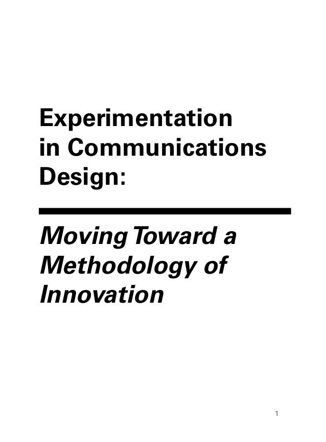 First Draft of Thesis (preliminary design)