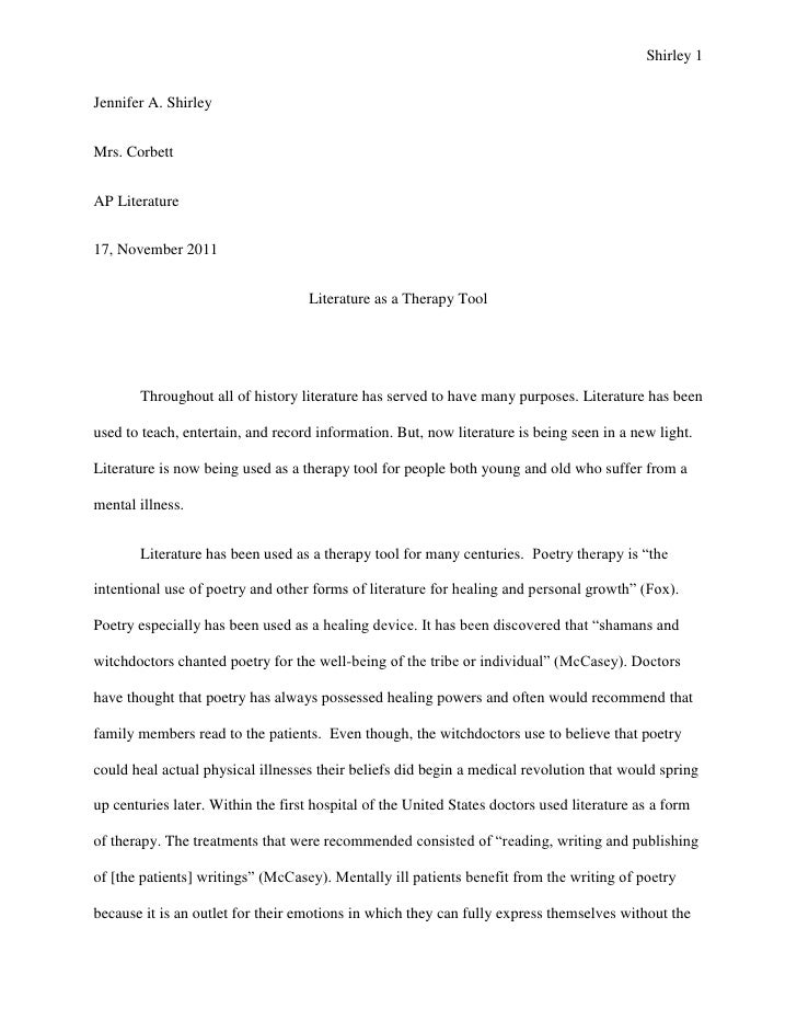 Abstract on research