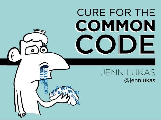 Jenn Lukas: Alle bør kunne kode litt (Webdagene 2013)