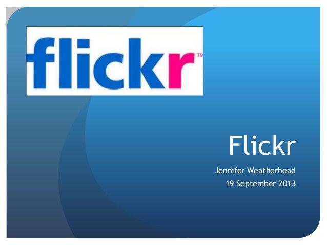 Flickr Powerpoint
