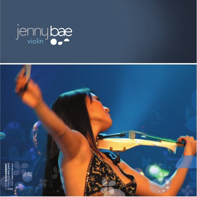 Jenny Bae, the violinist