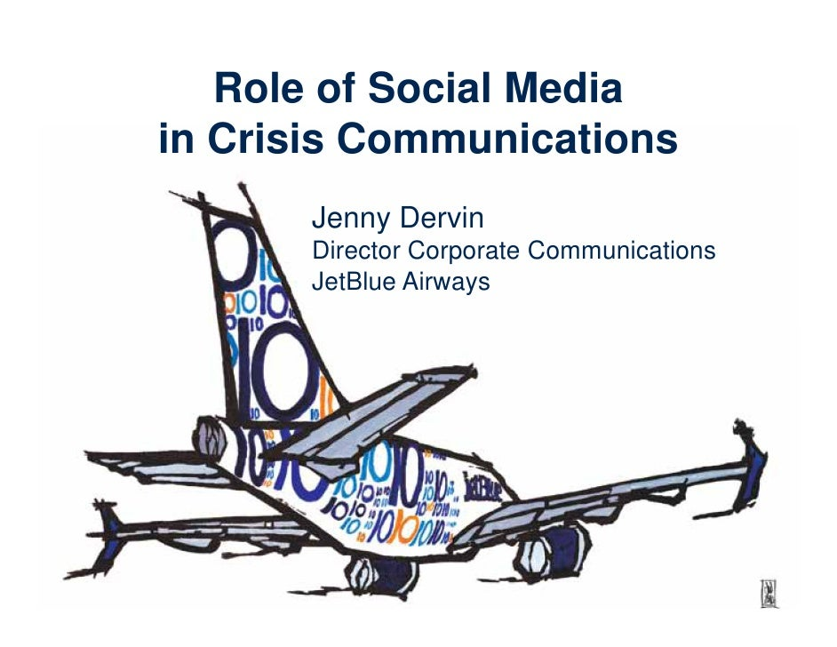 Role of Social Media in Crisis Communications - BDI 7/21/10 Social Convergence & The Enterprise