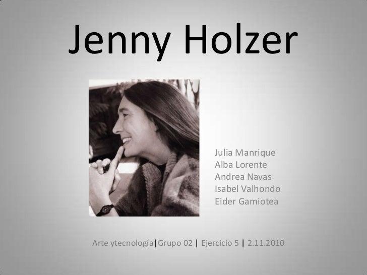 Jenny Holzer<br />Julia Manrique<br />Alba Lorente<br />Andrea Navas<br />Isabel Valhondo<br />Eider Gamiotea<br />Arte yt...
