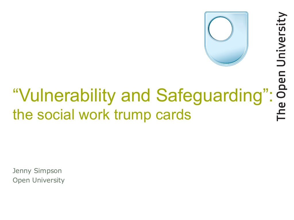 Vulnerability and Safeguarding