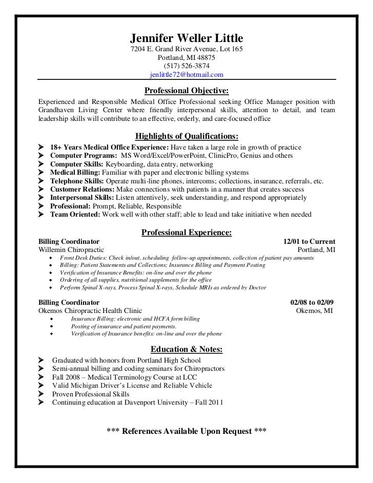 scheduler resume sample