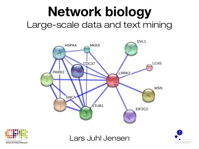 Network biology Large-scale data and text mining Lars Juhl Jensen