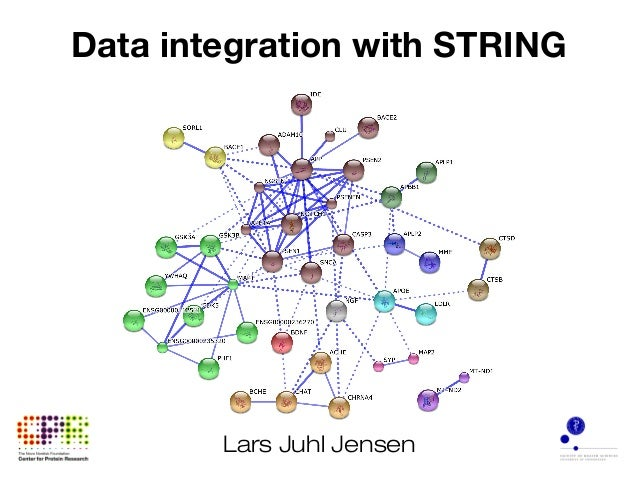 Data integration with STRING Lars Juhl Jensen