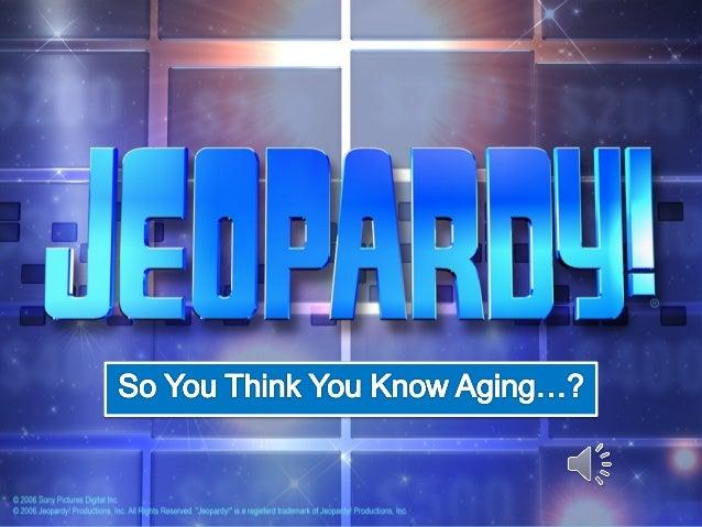 Jeopardy   presentation edition, final revision