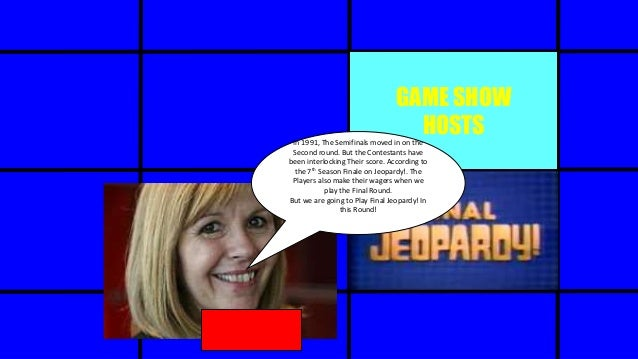 Jeopardy! (1991-1992 Tournament of Champions) The Final Jeopardy! Round (Part 1)