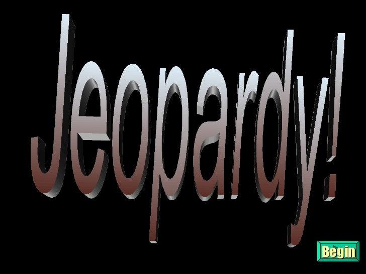 United States History Jeopardy unit 3