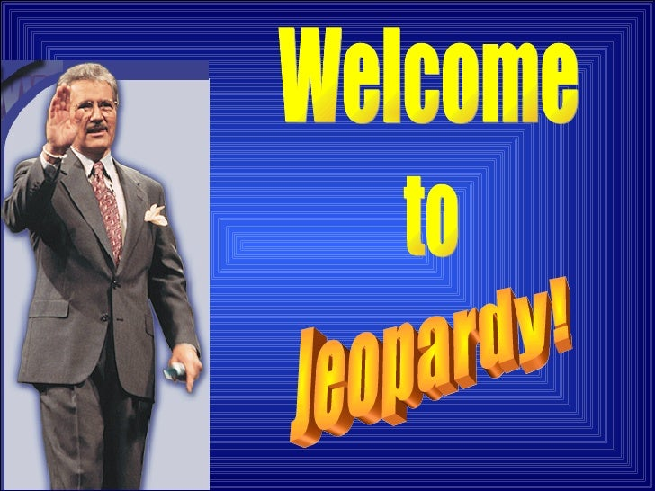 Jeopardy Blank